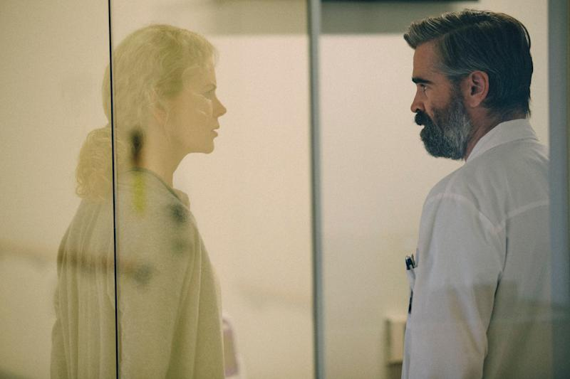 """Nicole Kidman and Colin Farrell star in """"The Killing of a Sacred Deer."""""""