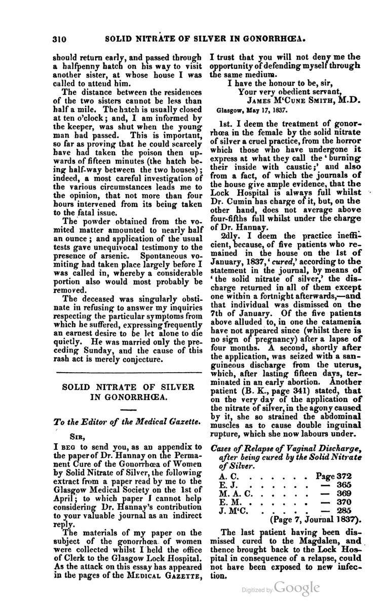 A page of text from a medical journal.