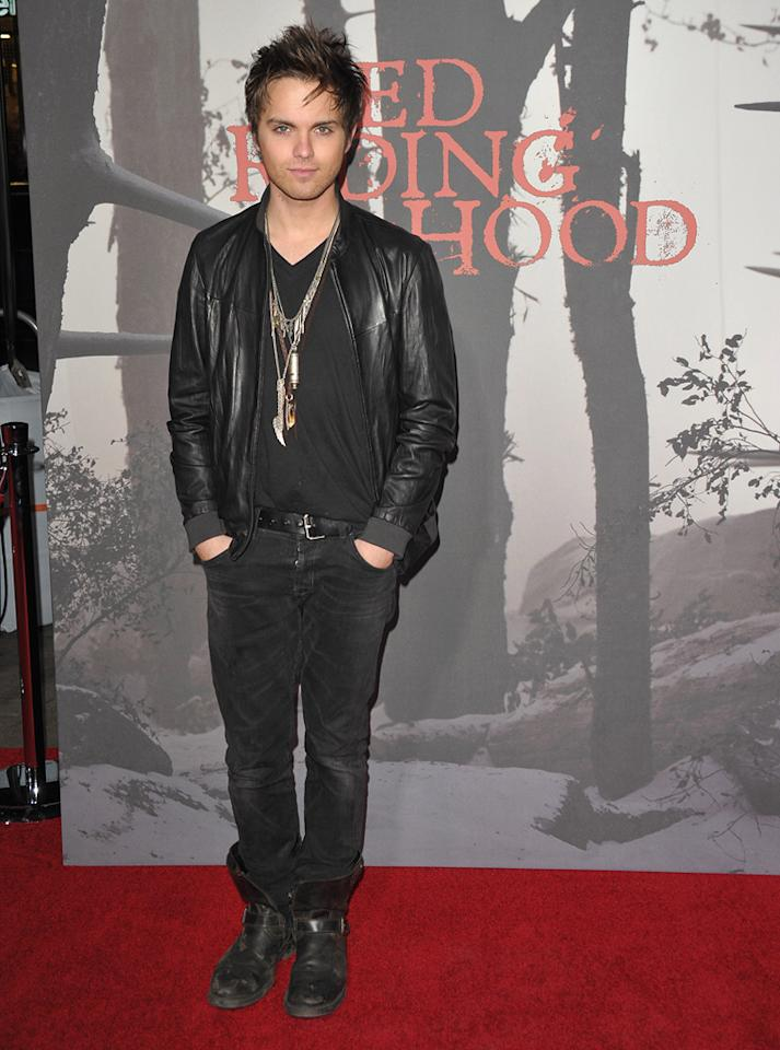 "<a href=""http://movies.yahoo.com/movie/contributor/1804491828"">Thomas Dekker</a> at the Los Angeles premiere of <a href=""http://movies.yahoo.com/movie/1810157569/info"">Red Riding Hood</a> on March 7, 2011."