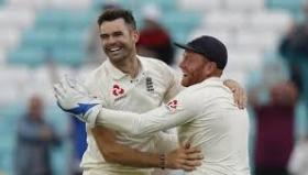 Anderson, Bairstow back for South Africa Test series