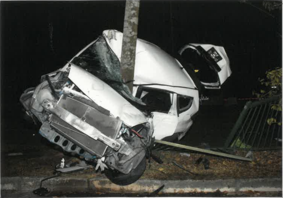 Photo of Suhairi's car from court documents.