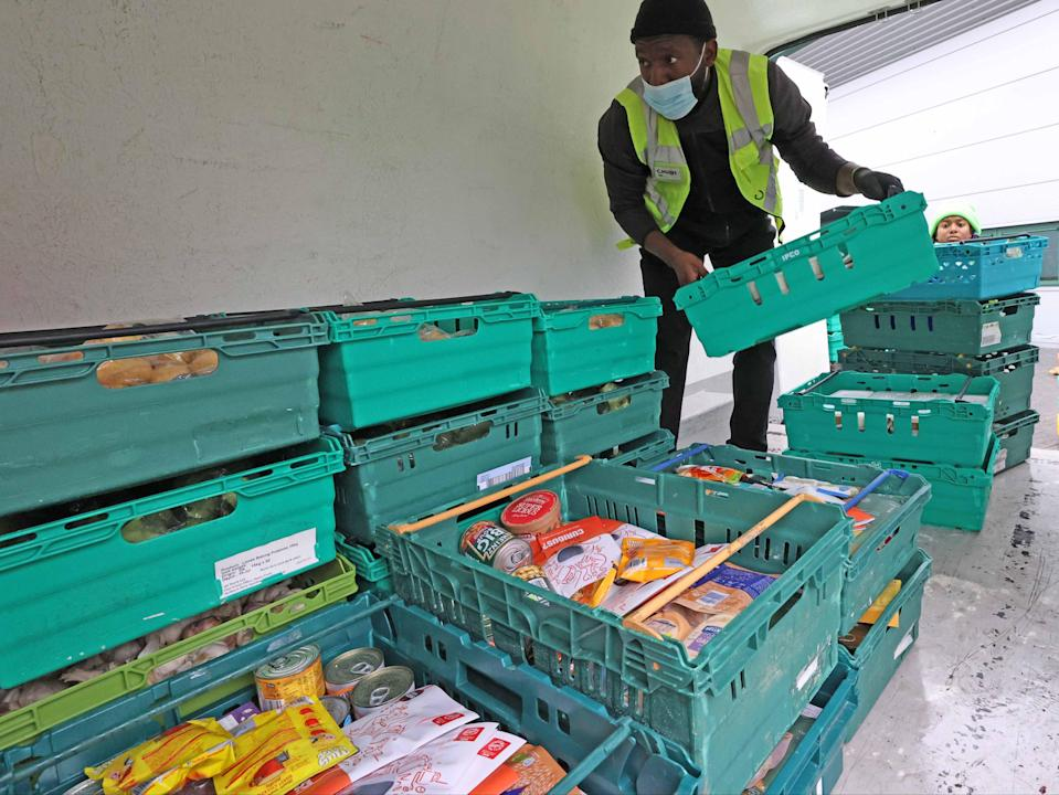<p>Mr Read praised <i>The Independent's</i> Help the Hungry campaign, adding: 'It is really important that there is action to address issues around food poverty and food insecurity in households'</p> (NIGEL HOWARD ©)