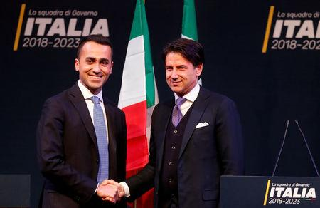 Italy's Conte remains League, 5-Star candidate for prime minister: Di Maio