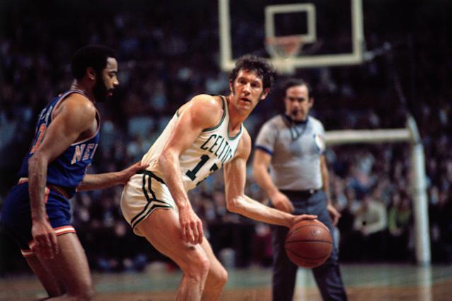 John Havlicek played in the NBA for 16 seasons. (Getty)