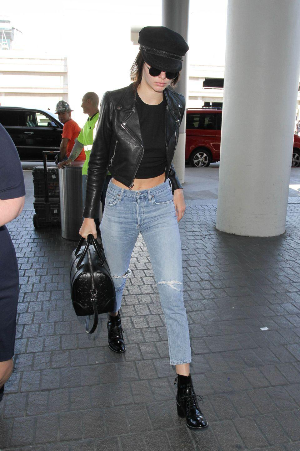 <p>Kendall Jenner in Los Angeles, July 2016</p>