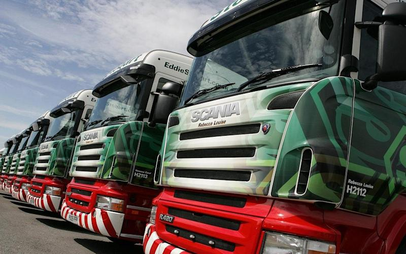 Stobart Group still has a 12.5pc stake in Eddie Stobart Logistics, the trucking firm - Press Association Images