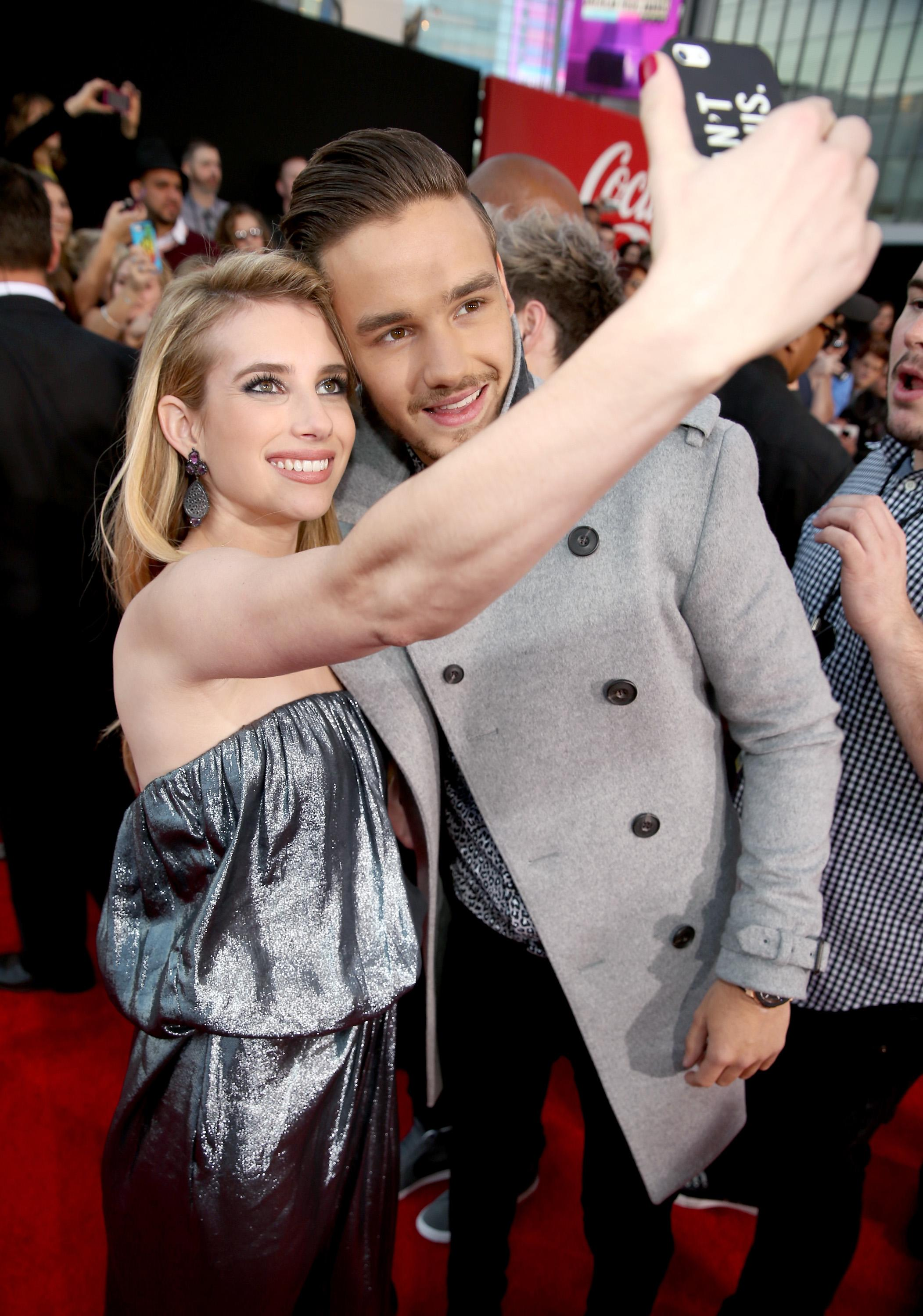 Actress Emma Roberts and singer Liam Payne have two of the most popular  names that people chose for their babies in 2017.