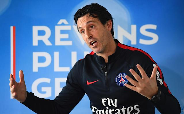 Unai Emery has faced some tough questions during his time at PSG