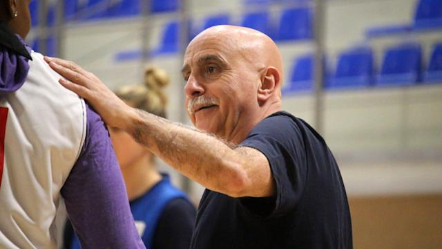 Chema Buceta took charge of the GB Women's Basketball team in October 2015 / Credit: GB Basketball
