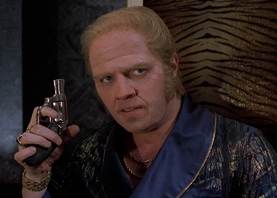 Tom Wilson as the future Biff Tannen in Back To The Future Part II. (Universal Pictures)