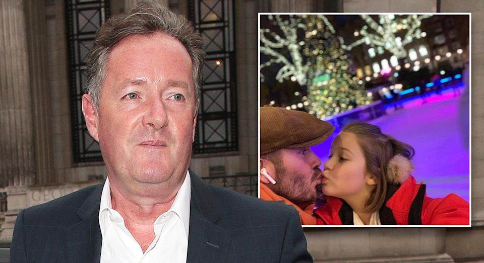 Piers Morgan has weighed in on the David Beckham kissing Harper debate [Photo: Getty]