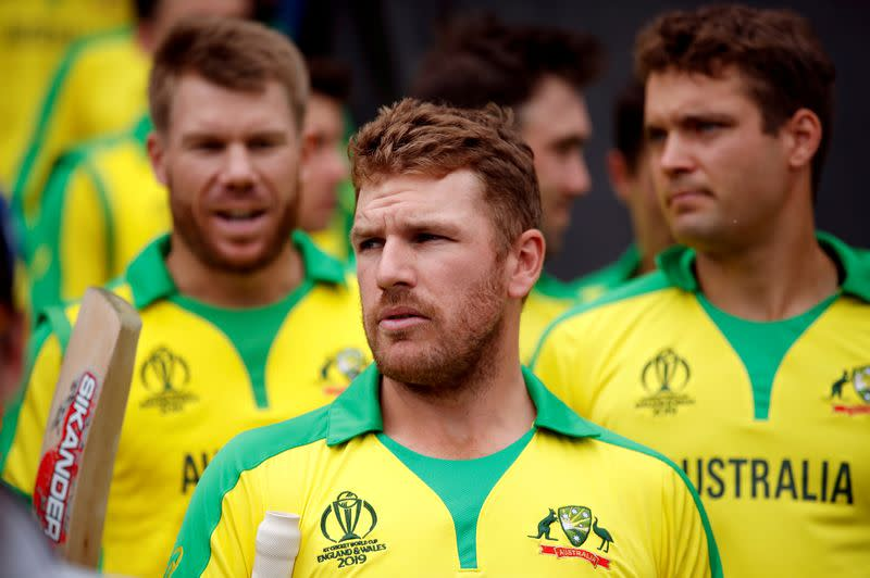Australia's Finch says test career probably finished