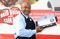 "<p>In the early 2000s, Foreman proved his acumen extended outside of the ring when he launched the <a href=""https://www.bloomberg.com/news/articles/2004-12-19/george-foreman-marketing-champ-of-the-world"" rel=""nofollow noopener"" target=""_blank"" data-ylk=""slk:successful George Foreman Grill"" class=""link rapid-noclick-resp"">successful George Foreman Grill</a> with Salton. </p>"