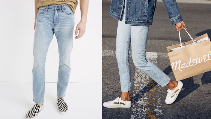 Madewell jeans.