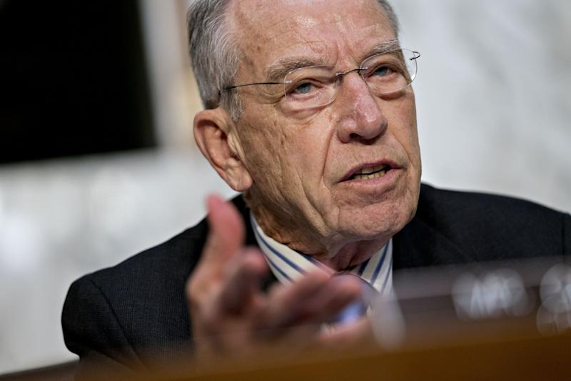 Grassley Blasts Democrats for Finding 'Pretext' to Get Trump