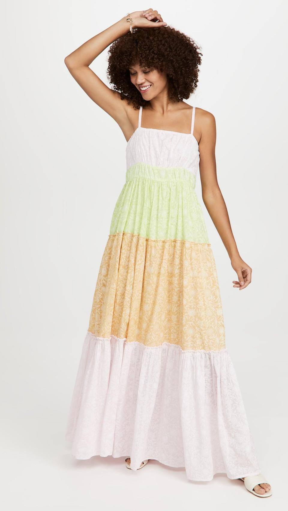 <p>We love all the different layers of this <span>Ro's Garden Amelia Dress</span> ($185). It's a summer staple.</p>