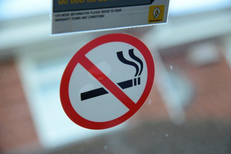 Non-smoking driver gets £200 fine for not displaying a