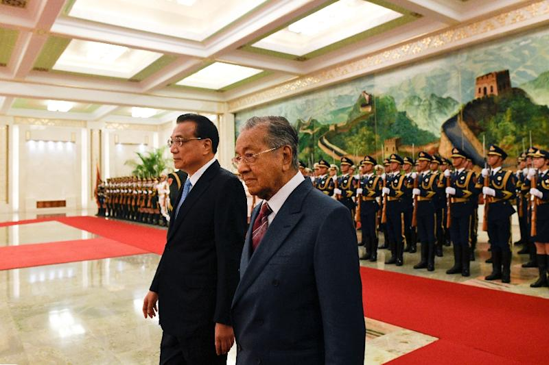China is the top trading partner of Malaysia, which is home to a substantial ethnic Chinese minority