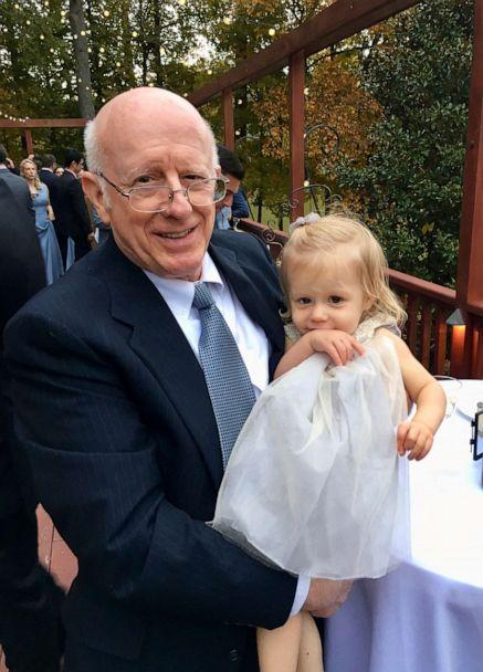 PHOTO: Donald Adair poses with his granddaughter, the daughter of Abby Reinhard. (Abby Reinhard)