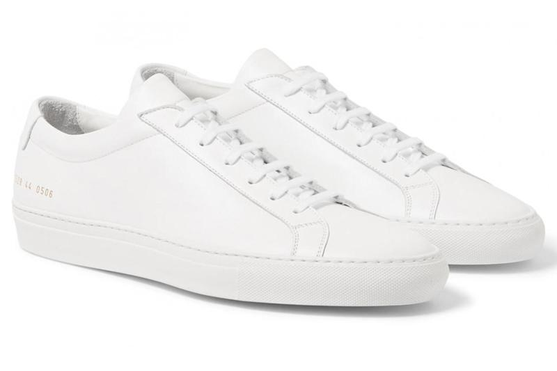 Achillies low-top leather, £250, Common Projects