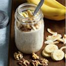 "<p>A breakfast you can make the night before saves lots of time when trying to get out the door the next morning.</p><p><em><a href=""https://www.womansday.com/food-recipes/a32703047/banana-cream-pie-overnight-oats-recipe/"" rel=""nofollow noopener"" target=""_blank"" data-ylk=""slk:Get the Banana Cream Pie Overnight Oats."" class=""link rapid-noclick-resp"">Get the Banana Cream Pie Overnight Oats.</a></em></p>"