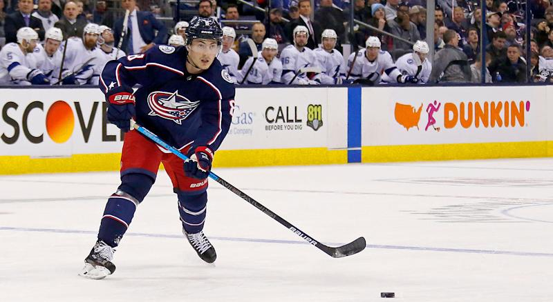 finest selection b4196 3c35c Werenski intends to sign with Blue Jackets before camp