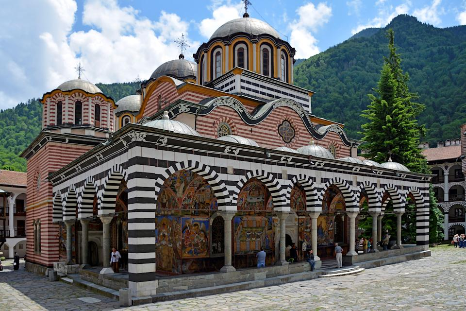 The Rila Monestary, Bulgaria is a Unesco World Heritage Site (Getty Images)