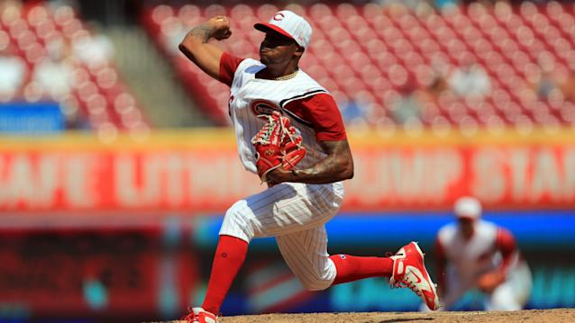 With Iglesias and Garrett back, Cincinnati Reds bullpen is close to whole again