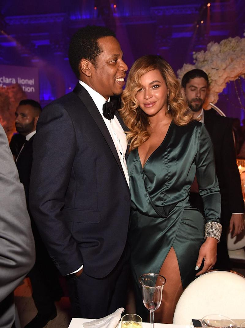 Jay-Z has opened up about how he and Beyonce save their marriage. The pair are pictured here together at an event in September 2017. Source: Getty