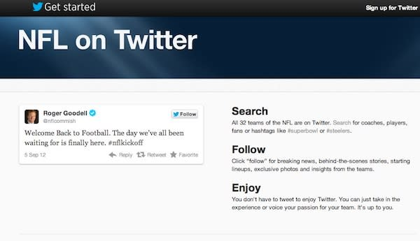Twitter Tells You How to Follow the NFL This Season