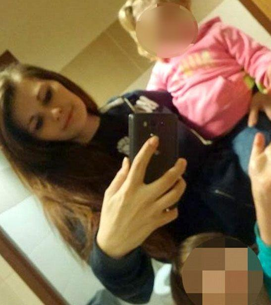 The 24-year-old mother allegedly told her children it was