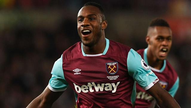 <p><strong>Team Goals:</strong> 38</p> <p><strong>Antonio's Goal: </strong>9</p> <br><p>A lack of consistently fit and available strikers has seen Michail Antonio emerge as West Ham's top scorer this season. He's scored as many as Andy Carroll and Andre Ayew combined, but 12 different Hammers players have netted in the league overall.</p>