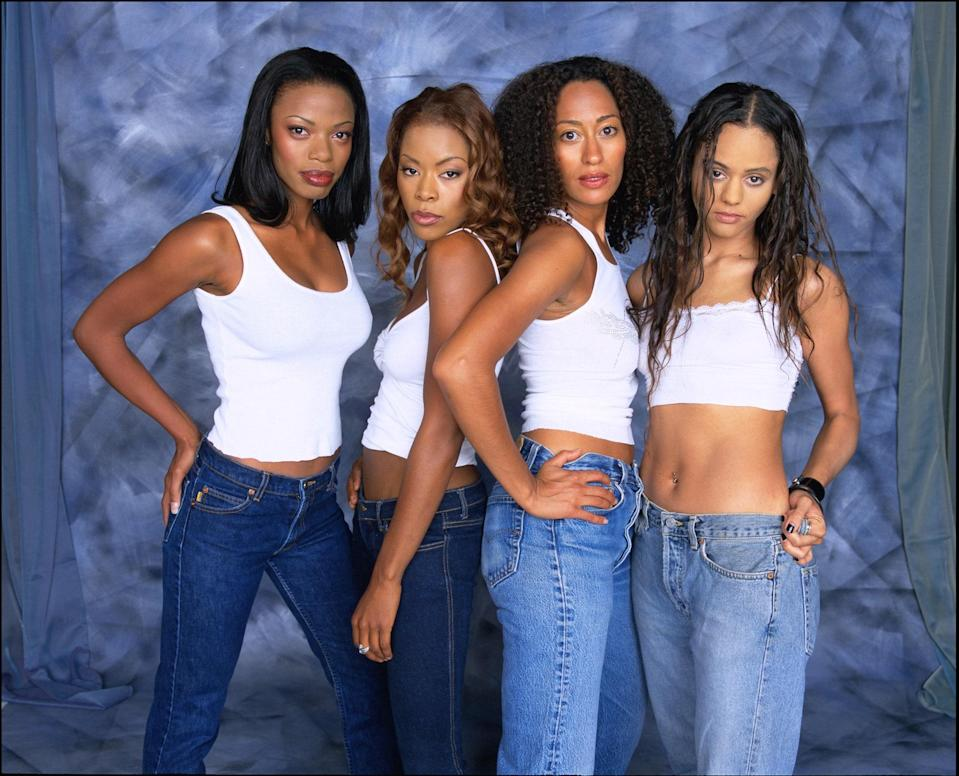 Where would we be without our girlfriends? The show was led by Joan (Tracee Ellis Ross), a high-powered lawyer with a struggling love life, who is always there for her best pals: outspoken Maya (Golden Brooks), free-spirited Lynn (Persia White), and blunt Toni (Jill Marie Jones). <em>Girlfriends</em> deftly examined the intricacies of class privilege while exploring topics like HIV, sexuality, mixed identity, and more.
