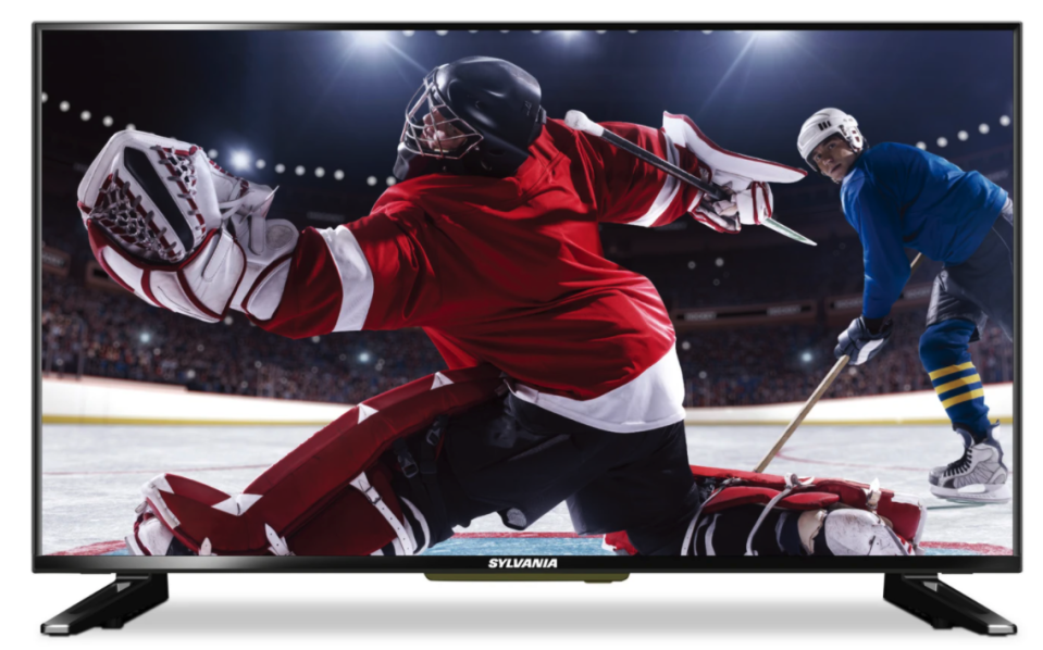 "Sylvania 32"" LED HD Television. Image via The Brick"