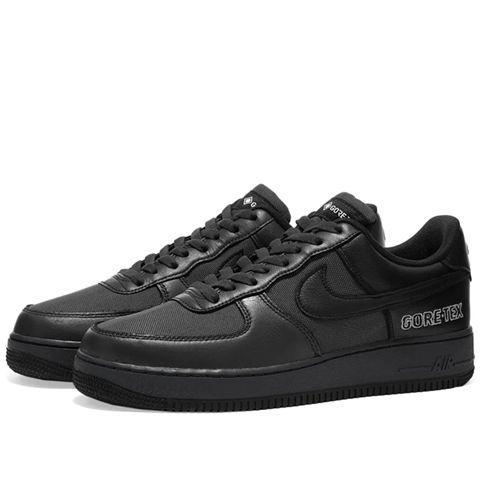 "<p><a class=""link rapid-noclick-resp"" href=""https://www.endclothing.com/gb/nike-air-force-1-gtx-ct2858-001.html"" rel=""nofollow noopener"" target=""_blank"" data-ylk=""slk:SHOP"">SHOP</a></p><p>Gore-Tex is practical. It's also very cool now, as the Nike Air Force 1 GTX can attest with its waterproof construction that, again, doesn't cosy up to the trend for all things trail sneakers.</p><p>Air Force 1 GTX, £129, <a href=""https://www.endclothing.com/gb/nike-air-force-1-gtx-ct2858-001.html"" rel=""nofollow noopener"" target=""_blank"" data-ylk=""slk:endclothing.com"" class=""link rapid-noclick-resp"">endclothing.com</a></p>"