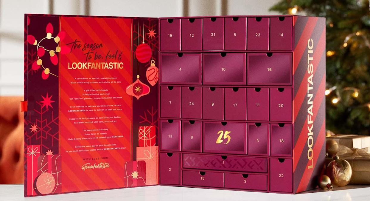 Lookfantastic has launched its Beauty Advent Calender for 2021 and it is not to be missed. But Lookfantastic is not the only one to have on your radar.  (Lookfantastic)