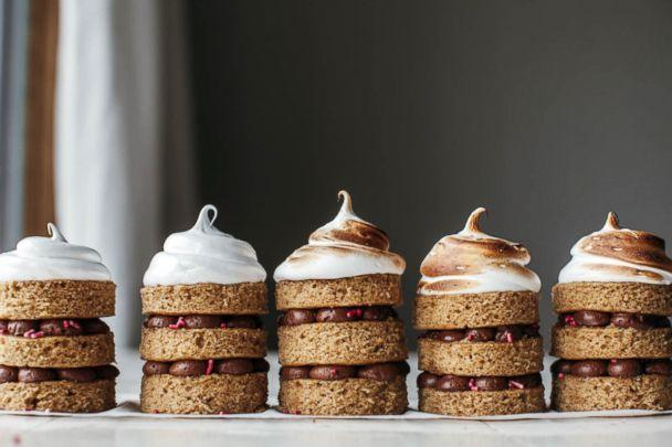 PHOTO: S'mores mini cakes from Molly Yeh, the creator of the popular food and lifestyle brand 'my name is yeh,' are photographed here. (Courtesy Molly Yeh)