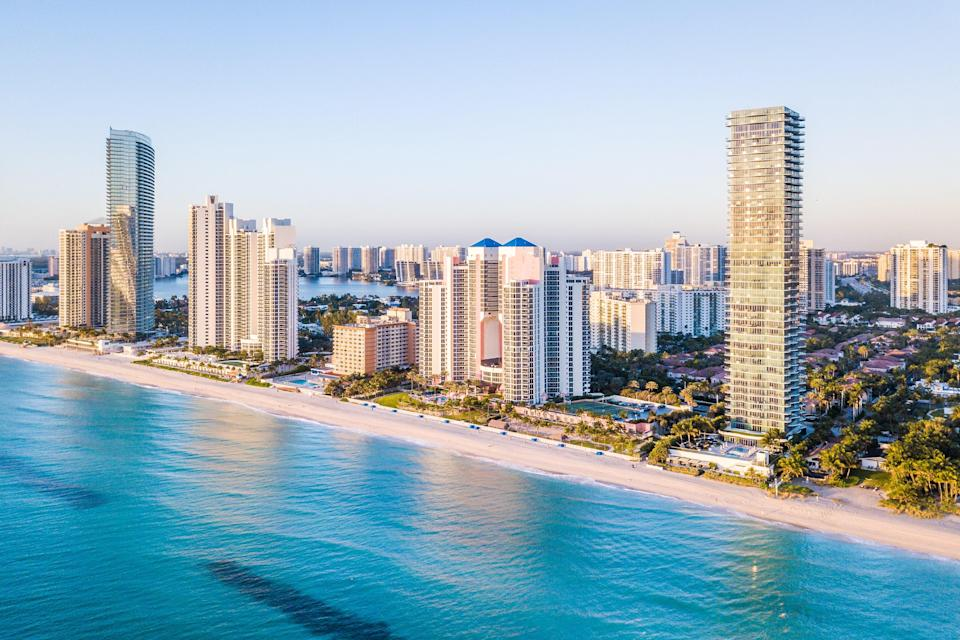 """According to White, cities also have star signs—and <a href=""""https://www.cntraveler.com/destinations/miami?mbid=synd_yahoo_rss"""" rel=""""nofollow noopener"""" target=""""_blank"""" data-ylk=""""slk:Miami"""" class=""""link rapid-noclick-resp"""">Miami</a> is a Leo. """"Hot in the summer and fashionably cool in the winter, it's the jetsetter place to be,"""" says White. """"Leos love drama and glitter and Miami has both."""" The lion can revel in the Old Hollywood glamour of the city's treasured Art Deco buildings and European elegance of the <a href=""""https://www.cntraveler.com/activities/miami/vizcaya-museum-and-gardens?mbid=synd_yahoo_rss"""" rel=""""nofollow noopener"""" target=""""_blank"""" data-ylk=""""slk:Vizcaya Museum and Gardens"""" class=""""link rapid-noclick-resp"""">Vizcaya Museum and Gardens</a>; scope out the boutiques and galleries of the ritzy <a href=""""https://www.cntraveler.com/shops/miami/design-district?mbid=synd_yahoo_rss"""" rel=""""nofollow noopener"""" target=""""_blank"""" data-ylk=""""slk:Miami Design District"""" class=""""link rapid-noclick-resp"""">Miami Design District</a>; and cruise the bustling sands of <a href=""""https://www.cntraveler.com/activities/miami/south-beach?mbid=synd_yahoo_rss"""" rel=""""nofollow noopener"""" target=""""_blank"""" data-ylk=""""slk:South Beach"""" class=""""link rapid-noclick-resp"""">South Beach</a>. """"Miami is about joy and exuberance—the sun, the music, the beautiful people,"""" says White. """"This is Leo's happy place."""""""