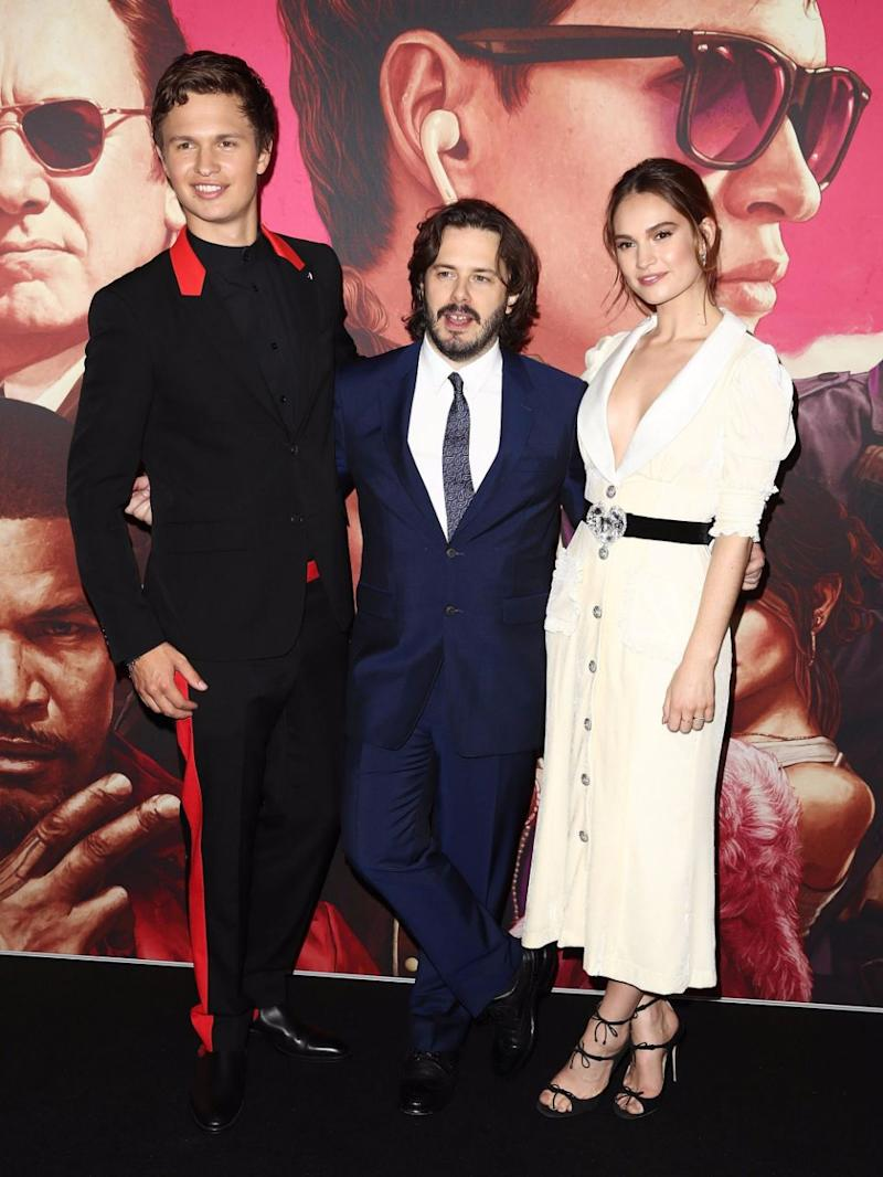 The stars of the movie Baby Driver were in Sydney last night for the Australian premiere. Source: Getty