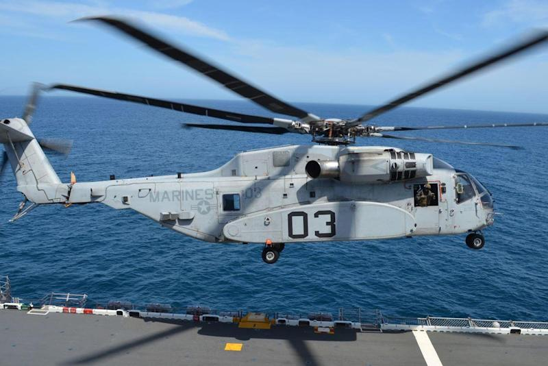 The Marines' New CH-53K King Stallion Has Now Been to Sea. Here's What's Next