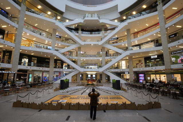 Image result for empty mall malay mail