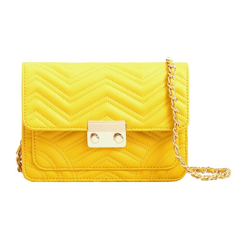 """<a rel=""""nofollow"""" href=""""http://www.anrdoezrs.net/links/3550561/type/dlg/http://shop.mango.com/US/p0/women/accessories/bags/crossbody-bags/quilted-chain-bag?id=83045542_12&n=1&s=search&utm_source=3550561&utm_medium=affiliate&utm_campaign=CJ"""">Quilted Chain Bag, Mango, $40</a>"""