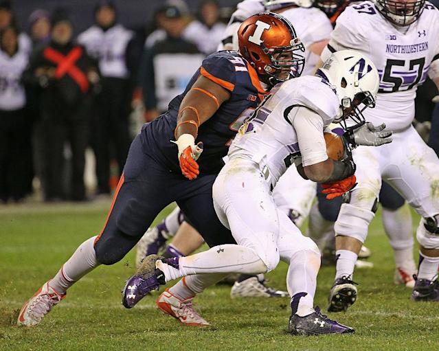 <p><strong>38. Illinois</strong><br> Trajectory: Up. Slid to 54th last year, bounced back to 38th this year – without a lick of help from the revenue sports. Still: the five-year average is the same as Princeton's. While that's a compliment to the powerhouse of the Ivy League, it doesn't speak well of the Illini. </p>