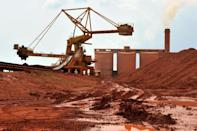 Worries over access to Guinea's vast reserves of bauxite have helped to drive aluminium prices to 13-year highs (AFP/GEORGES GOBET)
