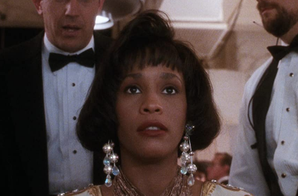 <p>Her chin-grazing bob was a standout moment, but Whitney Houston's piecey bangs are what everyone tried to replicate after this movie—hopefully with the help of a salon visit and not a DIY scissors sesh at home. (Been there.)</p>