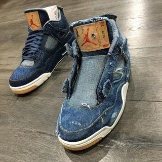 official photos 031eb 95043 People Are Bleaching and Destroying the Levi's x Air Jordan ...