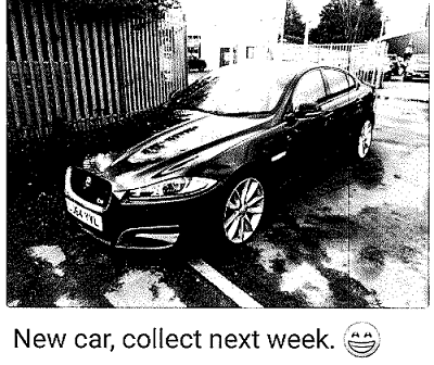 """A Whatsapp message printout, which the CPS said showed Child """"boasting"""" about his new car. (CPS)"""