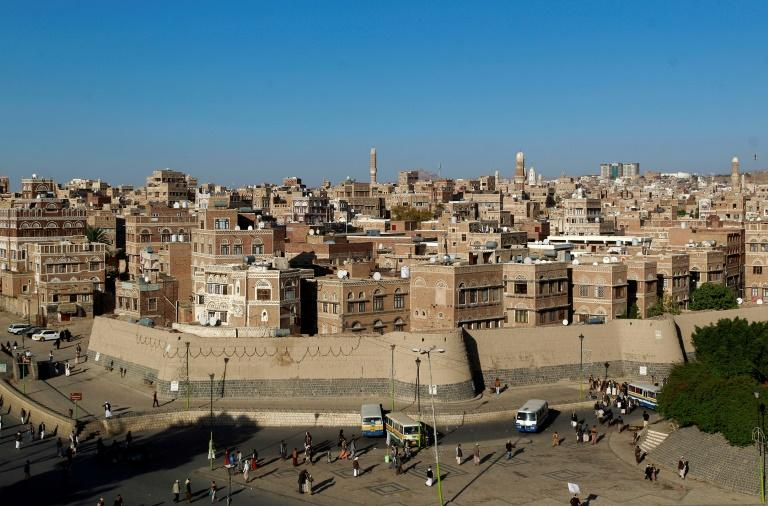 A view of the historic quarter of Sanaa in 2015