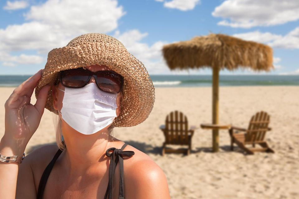 Face masks must be worn on the beach in Portugal (Getty Images/iStockphoto)