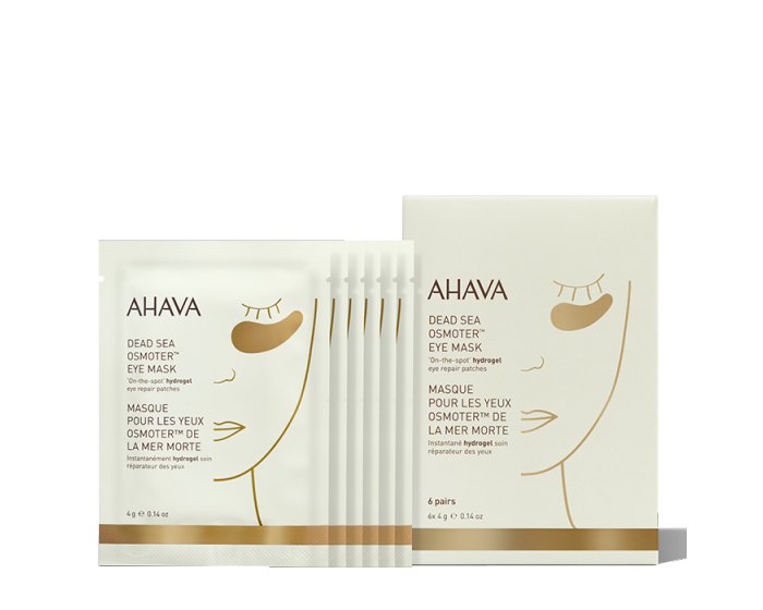 """<p><strong>ahava</strong></p><p>ahava.com</p><p><strong>$50.00</strong></p><p><a href=""""https://go.redirectingat.com?id=74968X1596630&url=https%3A%2F%2Fwww.ahava.com%2Fdead-sea-osmoter-eye-mask&sref=https%3A%2F%2Fwww.goodhousekeeping.com%2Fbeauty%2Fanti-aging%2Fg32633457%2Fbest-undereye-patches%2F"""" rel=""""nofollow noopener"""" target=""""_blank"""" data-ylk=""""slk:Shop Now"""" class=""""link rapid-noclick-resp"""">Shop Now</a></p><p>These patches are formulated with Osmoter, Ahava's proprietary Dead Sea mineral composition that <strong>claims to elevate moisture, smooth lines and wrinkles, and minimize signs of fatigue</strong>. One GH editor with super sensitive skin swears by these to instantly soothe puffy eyes during eczema flare-ups. """"My skin feels hydrated and calmed after use,"""" she says. </p>"""
